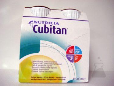 CUBITAN VANILLE (4X200ML)