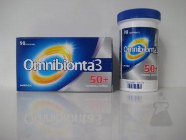OMNIBIONTA 3 50+ ECONOMY PACK (90TABL)