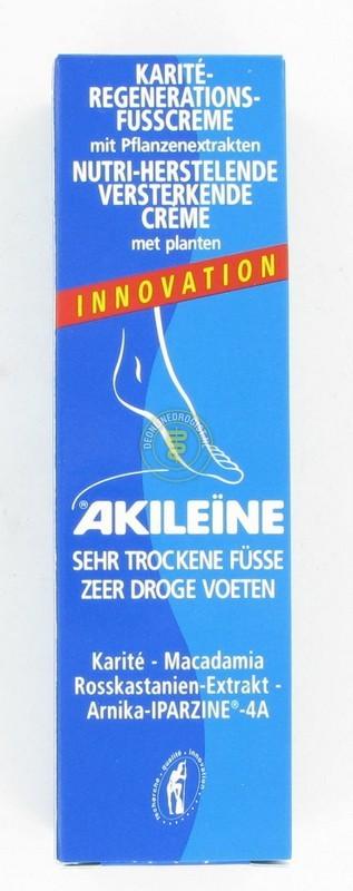 AKILEINE ZEER DROGE VOETEN CREME (50ML)