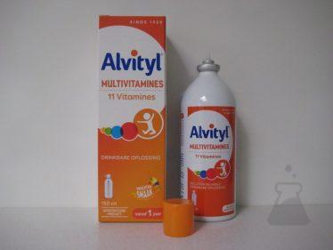 ALVITYL  MULTIVITAMIN SIR (150ML)
