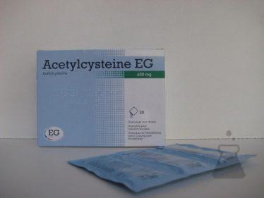ACETYLCYSTEINE EG 600 MG (30ZAK)
