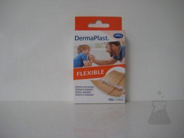 DERMAPLAST FLEXIBLE 6CMX10CM (10STUK)