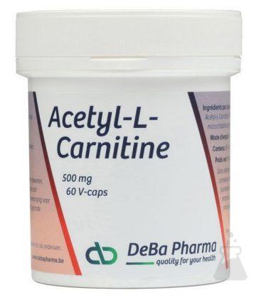 ACETYL-L-CARNITINE 500 MG   DEBA (60CAPS)