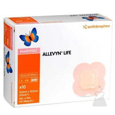 ALLEVYN LIFE 10,3CMX10,3CM  10ST