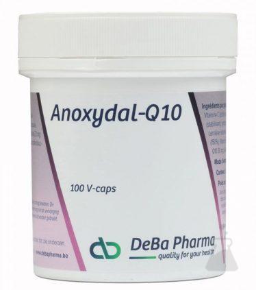 ANOXYDAL Q10                DEBA (100CAPS)