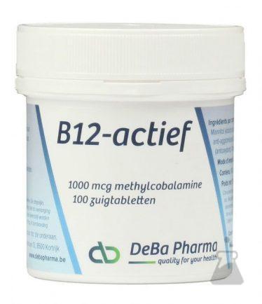 B12 ACTIEF DEBA  ZUIGTABLETTEN (100TABL)