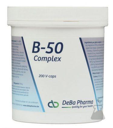 B50 COMPLEX DEBA VCAPS (200CAPS)