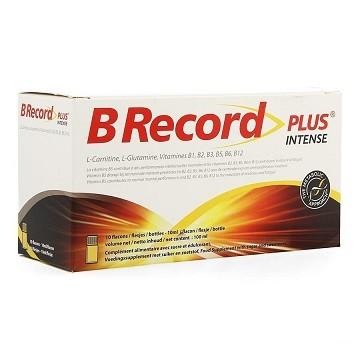 B RECORD PLUS INTENSE 10ML (10STUK)
