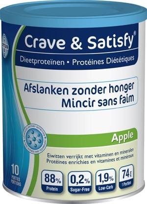 CRAVE & SATISFY PROTEIN APPLE (200G)