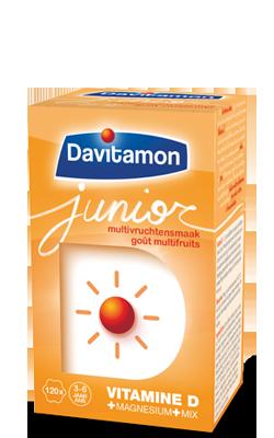 DAVITAMON  JUNIOR MULTIFRUIT (120TABL)