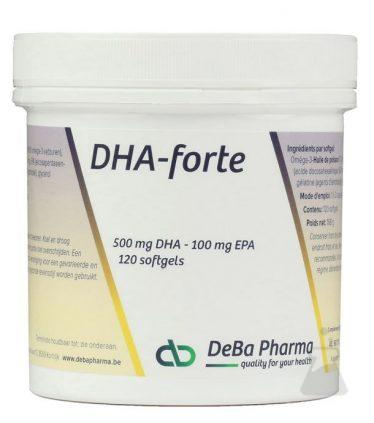DHA FORTE 500 MG DEBA (120CAPS)