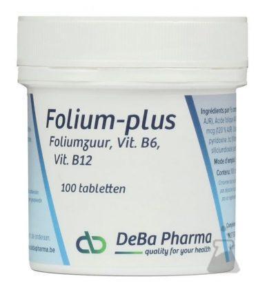 FOLIUM PLUS DEBA 800MCG (100TABL)