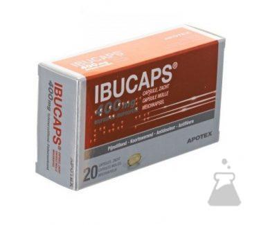 IBUCAPS 400 MG APOTEX (20CAPS)