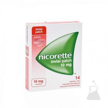 NICORETTE INVISIPATCH 10 MG (14STUK)