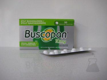 BUSCOPAN 10 MG (50DRAG)