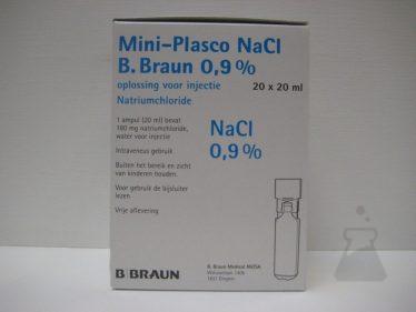 MINIPLASCO NACL 0,9% 20ML BRAUN (20AMP)