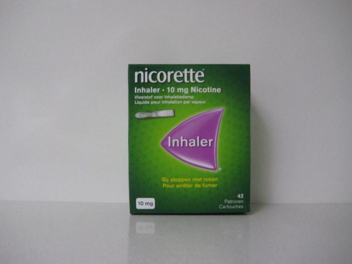 NICORETTE  10MG INHALER STARTVERPAKKING