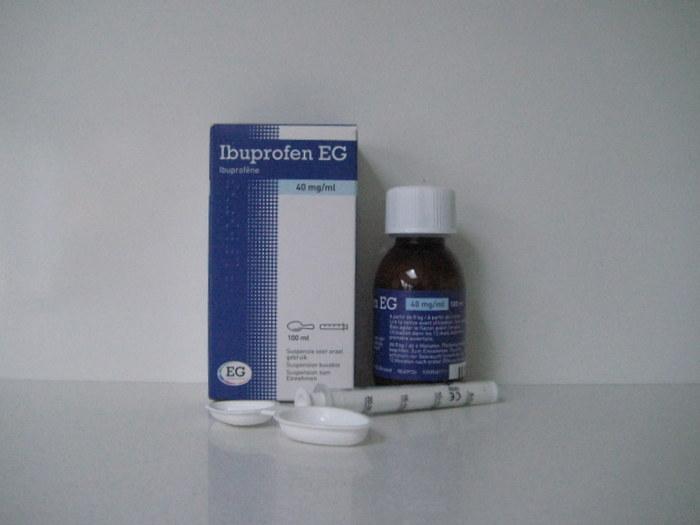 IBUPROFEN EG 40MG/ML SUSPENSIE (100ML)