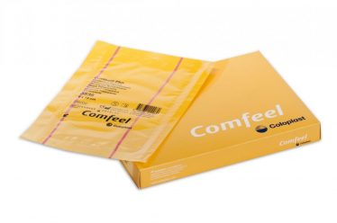 COMFEEL TRANSP VERB STER  9X14