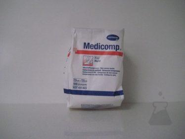 MEDICOMP 7,5X7,5CM N/STER 4L (100STUK)