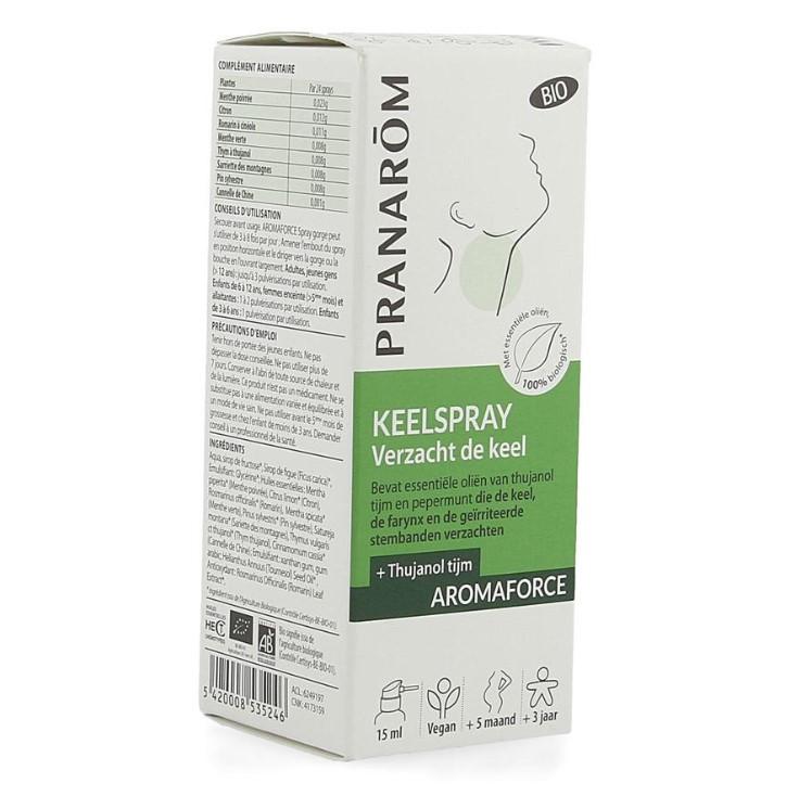 PRANAROM AROMA KEELSPRAY BIO (15ML)
