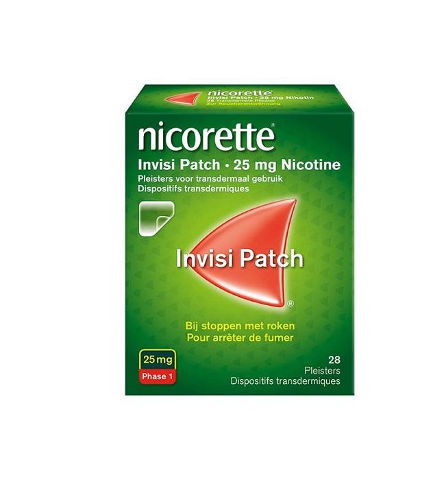 NICORETTE  INVISIPATCH 25 MG (28STUK)